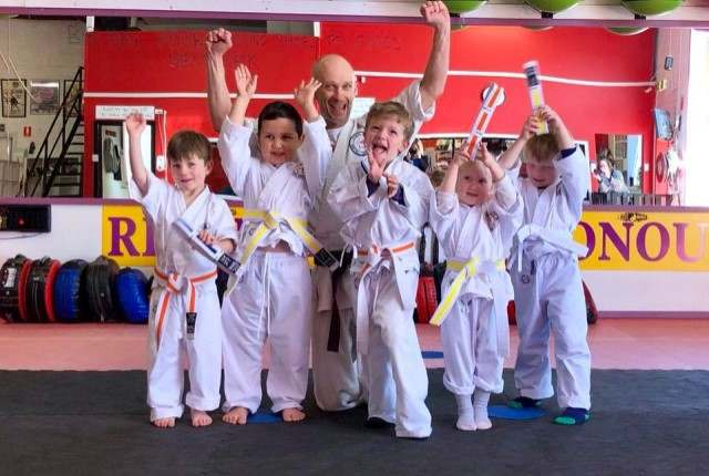 Kids Karate1, High Impact Martial Arts and Health Studio