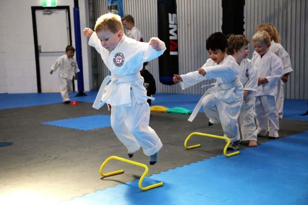 Mini Ninja Jump Resize 1024x682, High Impact Martial Arts and Health Studio